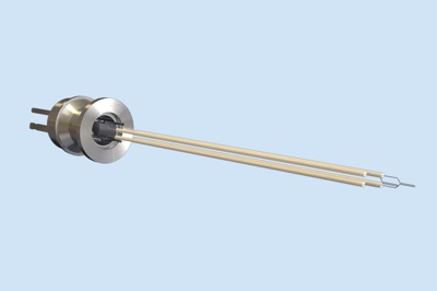 Twin Type-C Thermocouple Vacuum Feedthrough